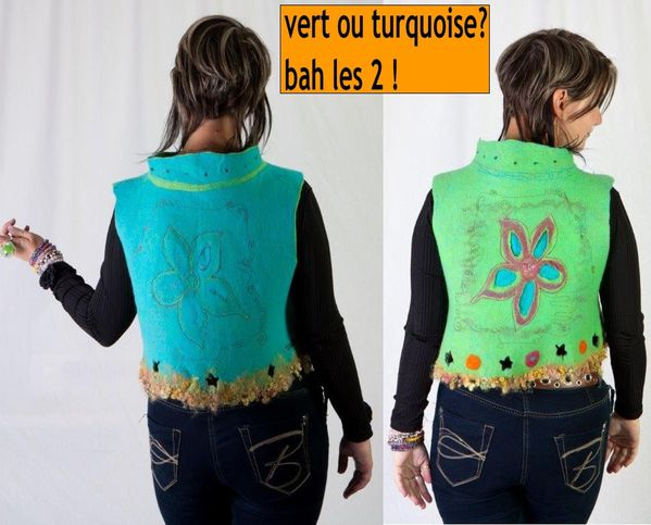 22vert ou turquoise