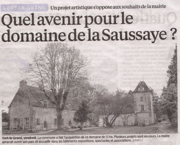 AVENIR DE LA SAUSSAIE VERT LE GRAND 1