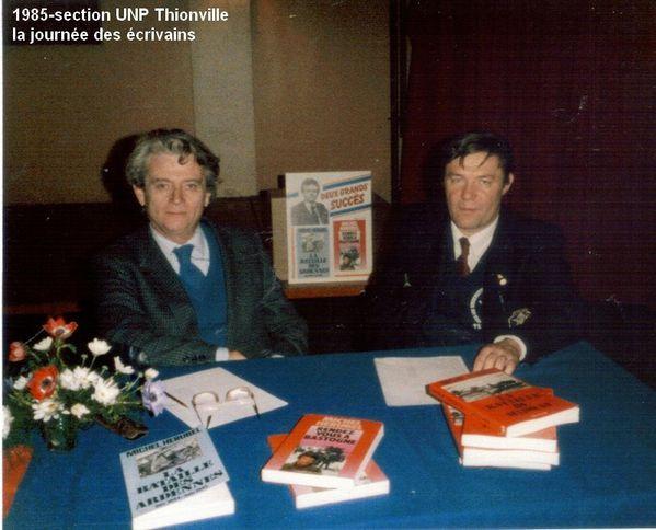 1985-Thionville la journée des écrivains. (17)