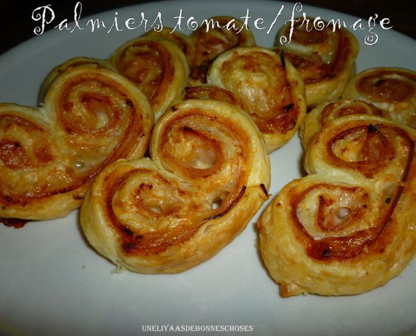 palmiers gourmands tomate fromage id e recette ramadan uneliyaasdebonneschoses. Black Bedroom Furniture Sets. Home Design Ideas