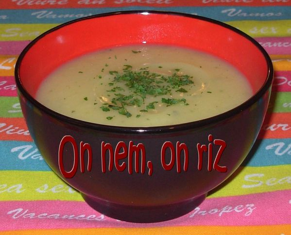 Soupe blanche1