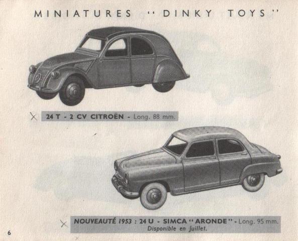 catalogue-dinky-toys-1953-p6-citroen-2cv-simca-aronde