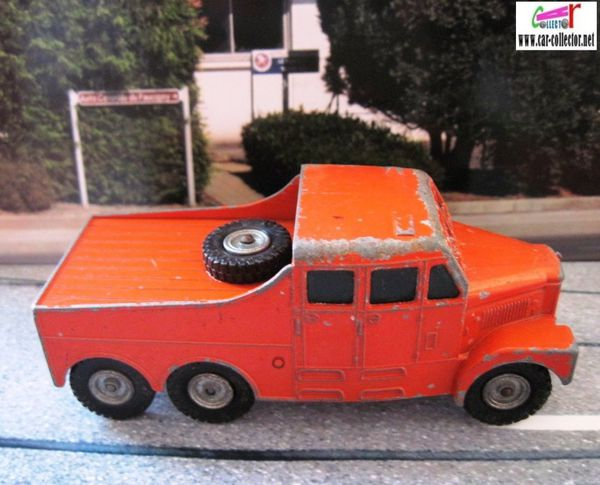 scammell 6x6 tractor matchbox king size lesney (1)