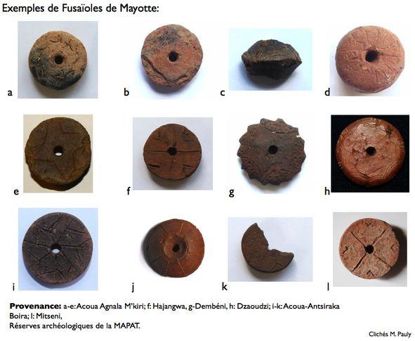 fusaïoles de Mayotte