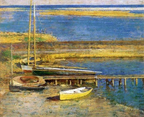 Theodore-Robinson--1852-1896--Boats-At-A-Landing.jpg
