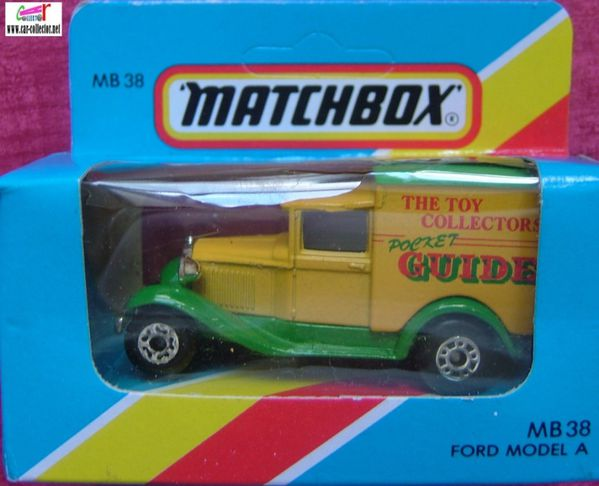 ford model a matchbox the toy collectors pocket guide
