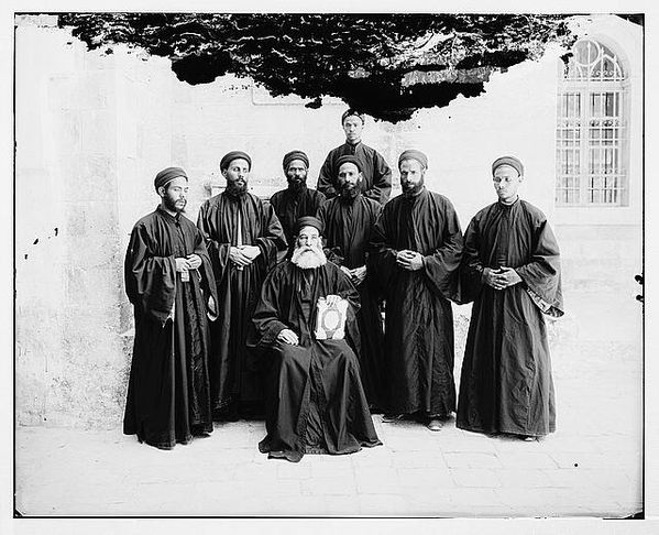 Coptic monks
