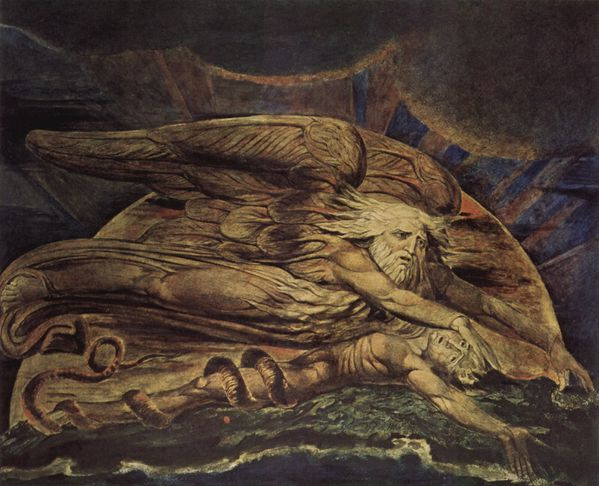 William Blake et Dieu crea Adam