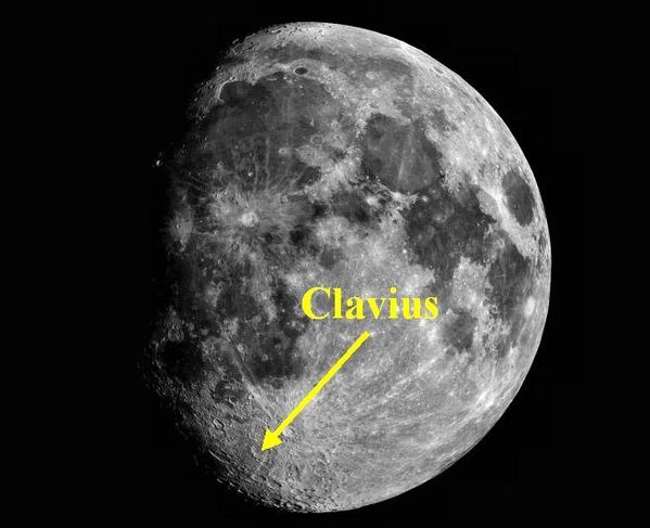 Clavius B situation