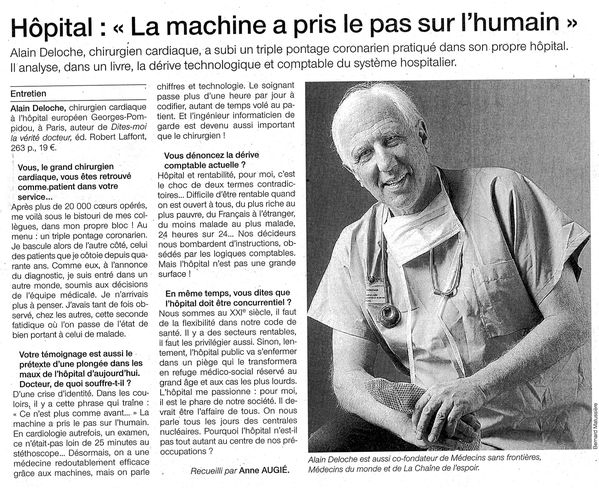 Hôpital La machine