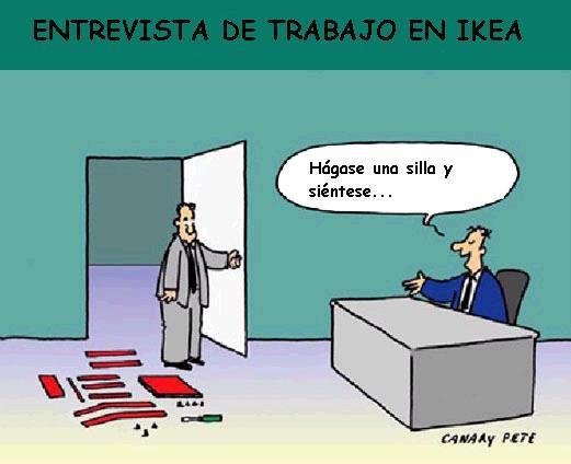 Entrevista de trabajo en IKEA1