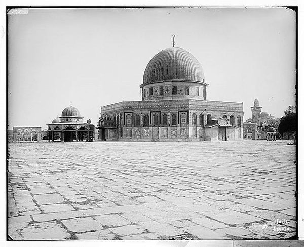 Dome of the Rock from the northeast, 1898