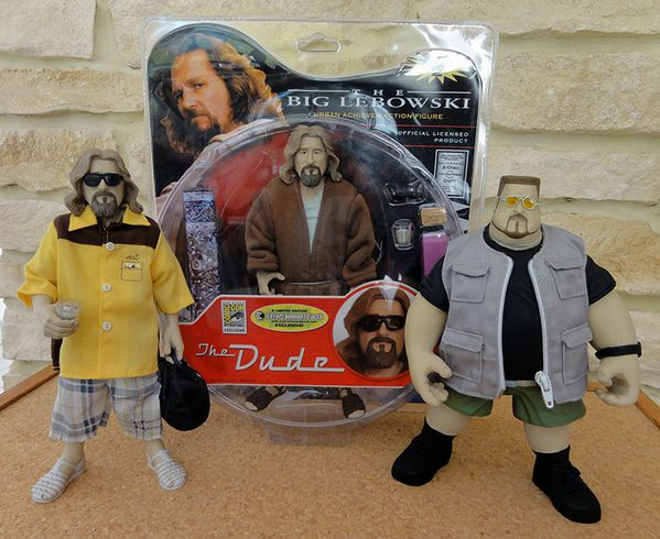 BIG LEBOWSKI EXCLUSIVE COMIC CON THE DUDE