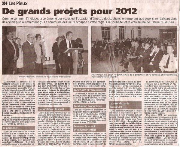 voeux mairie 2012