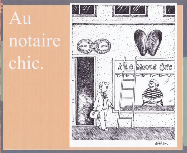 notaire chic