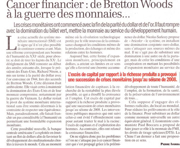 Copie de cancer financier Huma13Nov10 P Yvorra