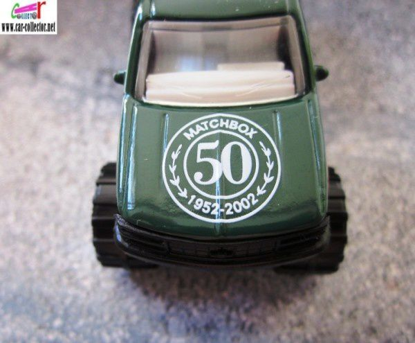 chevrolet k1500 pickup matchbox