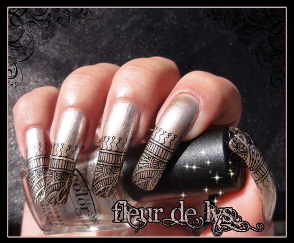 Stamping ongles