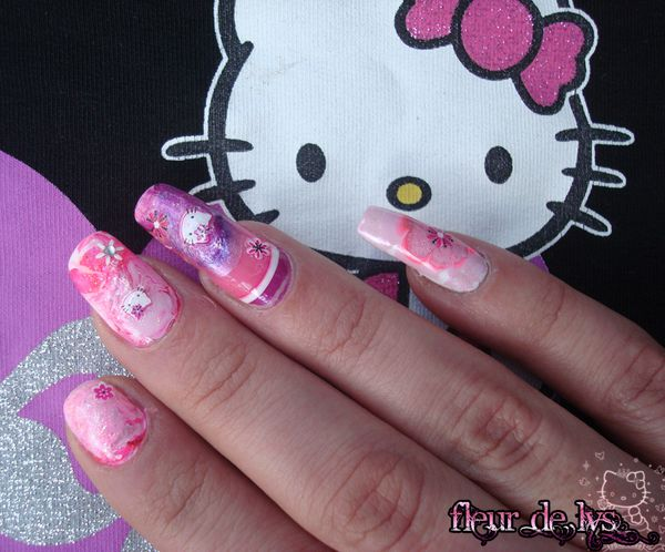 Nail Art Kitty