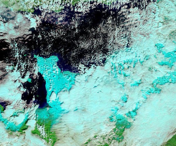 Terra - MODIS - Neige en France - Bretagne - Coten-copie-1