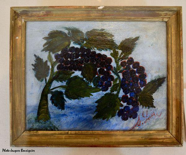 Les raisins Seraphine Louis Musee Art Archeologie Senlis a