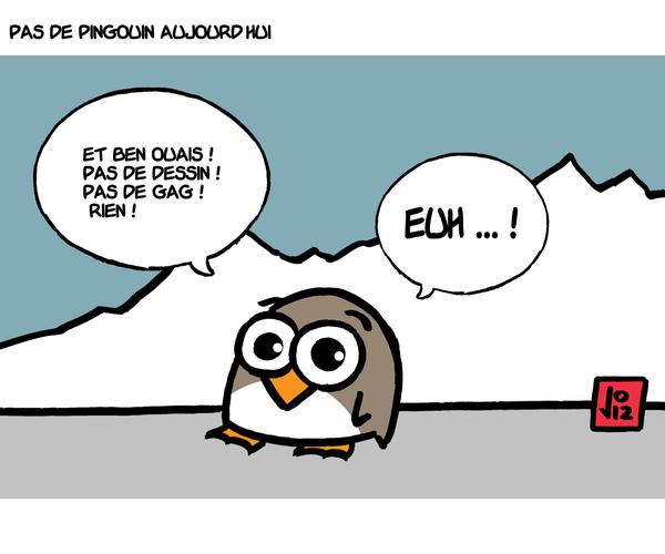 pas de pingouin