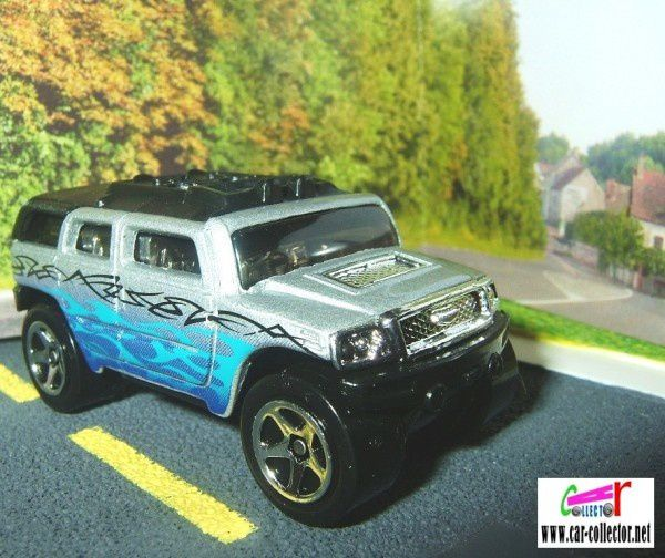 rockster hummer grey pack 5 hot trucks 2006 5-pk