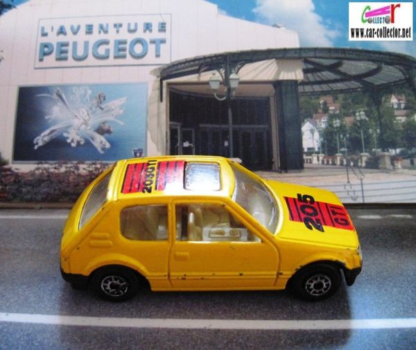 peugeot 205 gti mc toy mac toy