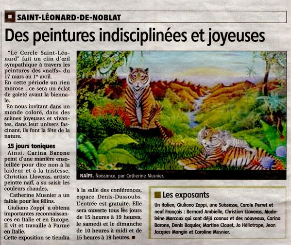 Article-02 03 2012 Le Populaire du Centre