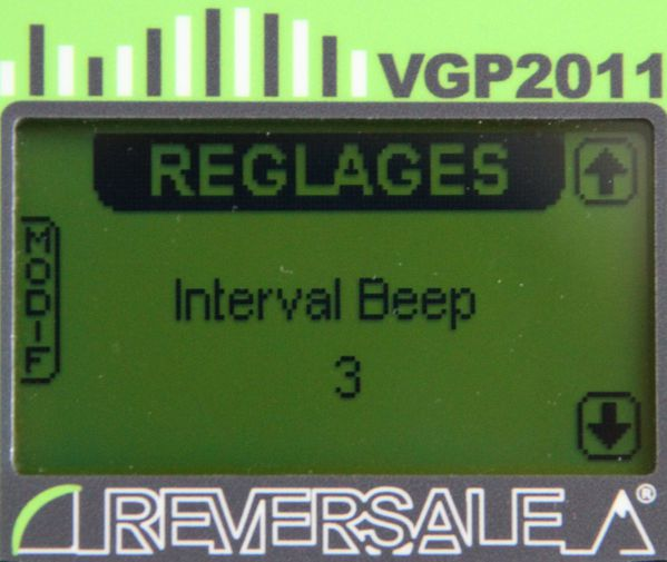 intervale beep