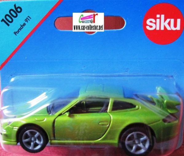 porsche 911 carrera s green siku item 1006 (1)