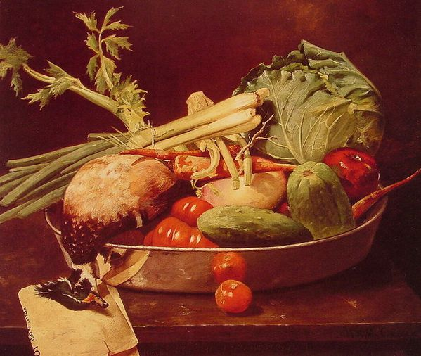 709px-Chase William Merritt Still Life with Vegetable