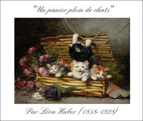 Le-Tableau-du-samedi-Un-panier-plein-de-chats--par-Leon-Hub.jpg