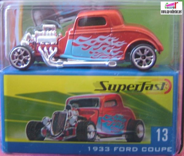 1933 ford coupe matchbox superfast limited edition