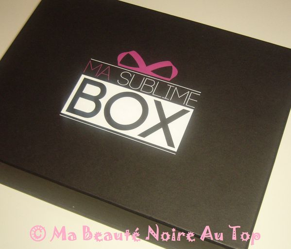 ma sublime box mon coffret beaut de no l ma beaut noire au top. Black Bedroom Furniture Sets. Home Design Ideas