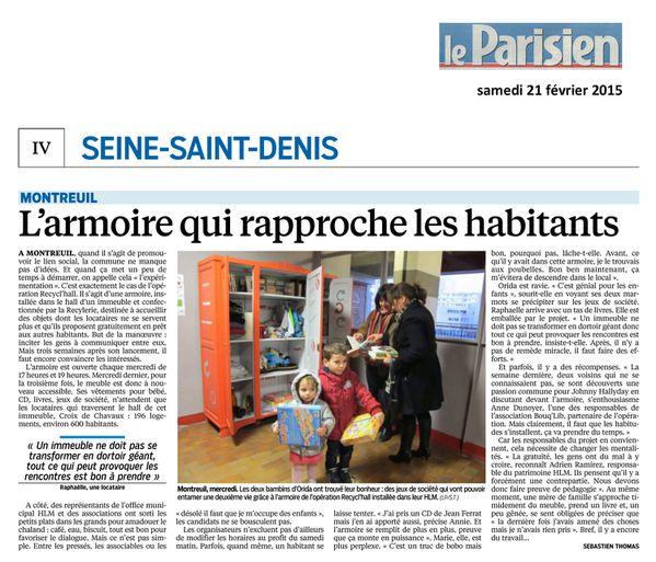 leParisien21fev2015 Montreuil armoire rapprochebr