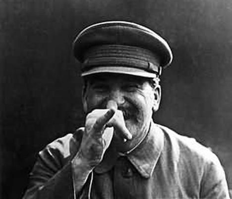 stalin clown