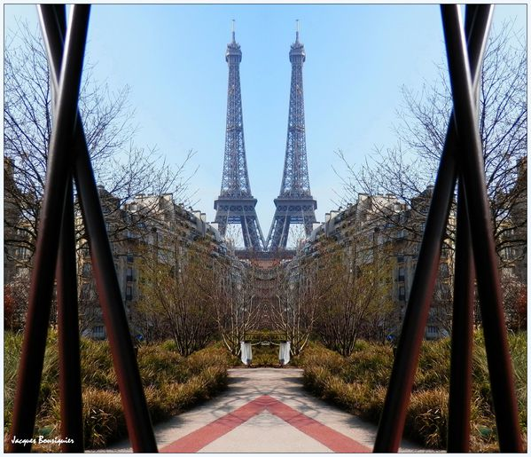 The Twin Towers of Paris