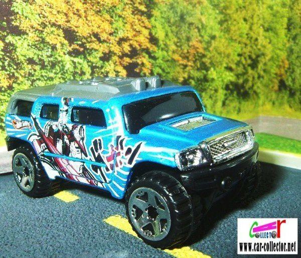 rockster hummer 4x4 robo revenge 5-pk