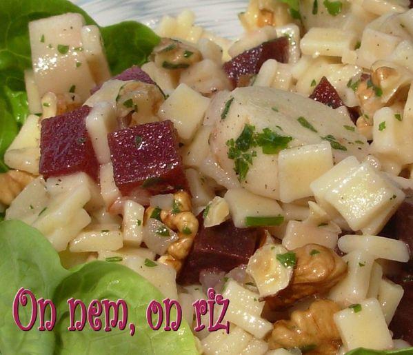 Salade de crozets4