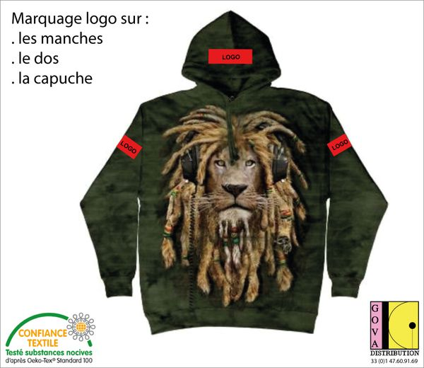 Marquage sweat-shirt animaux GOVA