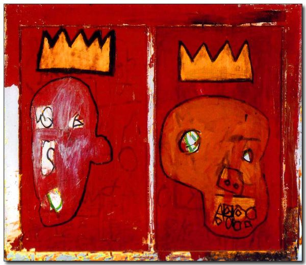 Basquiat-Red-Kings-1981