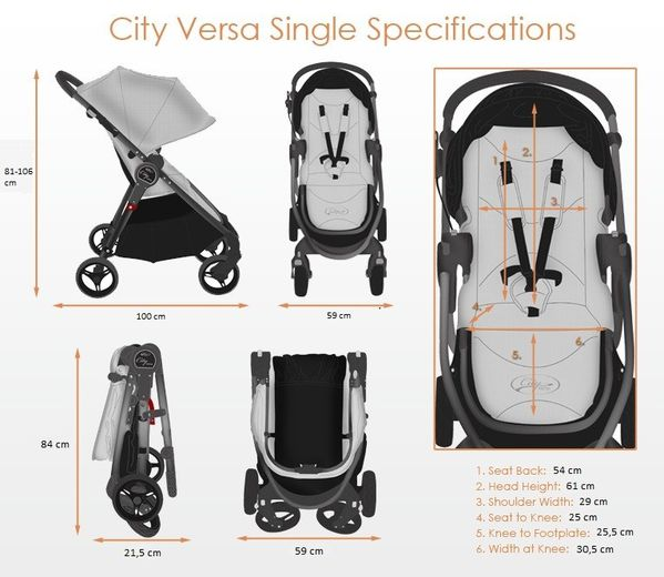 dimensions Baby jogger city versa-copie-1