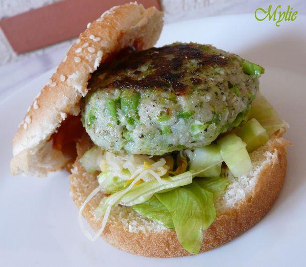 hamburger de poisson à la thaïe 3