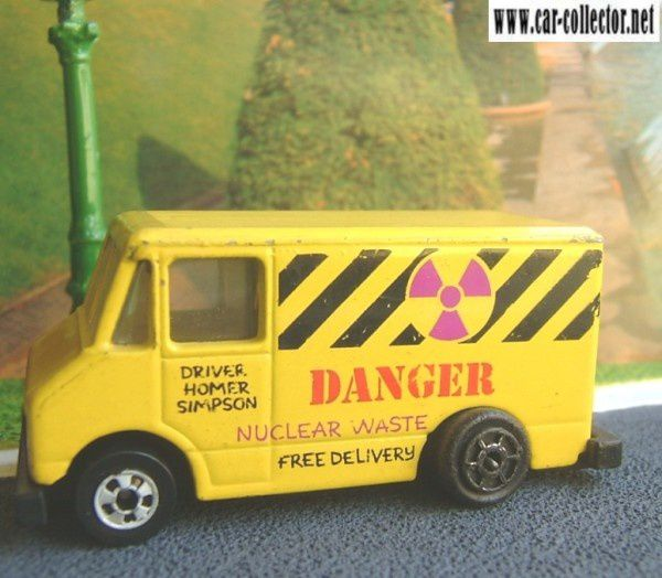 Simpson's Nuclear Waste Van ref 9114 free delivery