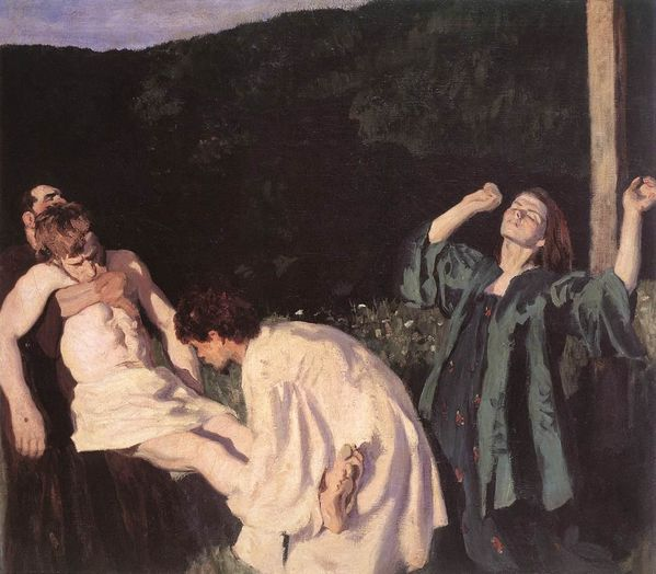 Karoly Ferenczy Deposition from the Cross1903