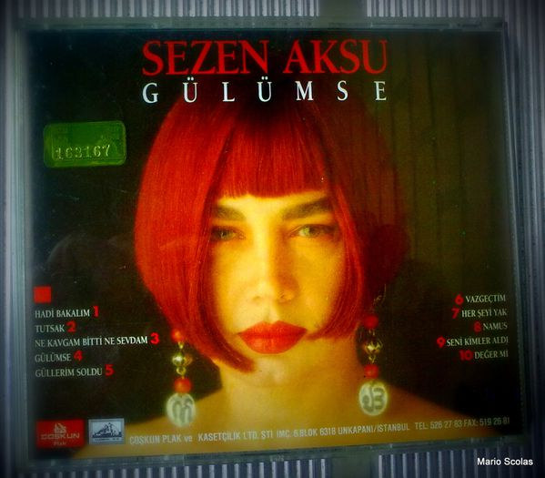 """Sezen Aksu : """"Gülümse"""" (1991)"""