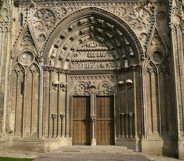 231b Portal of St-Thomas Beckett, Notre-Dame Cathedral, Bay