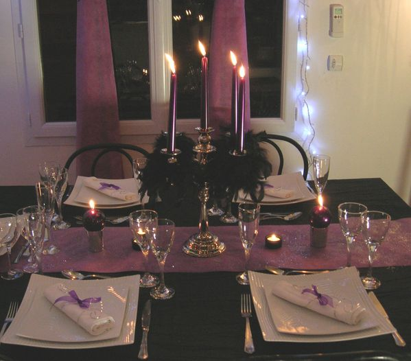 Profilactic Of New Year S Eve Decor Of Table O Dreams