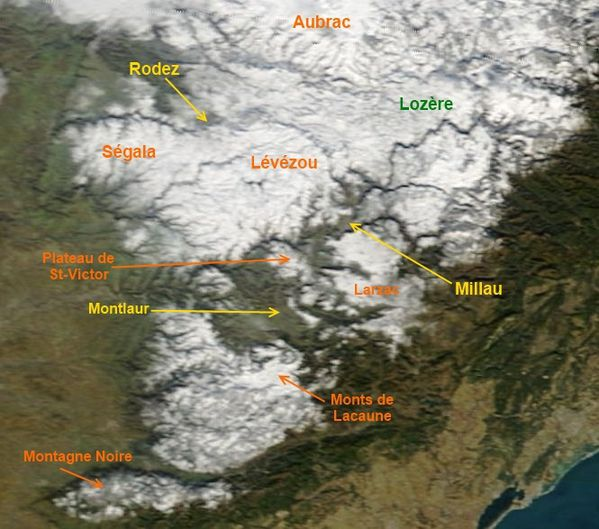 modis terra image satellite decembre neige